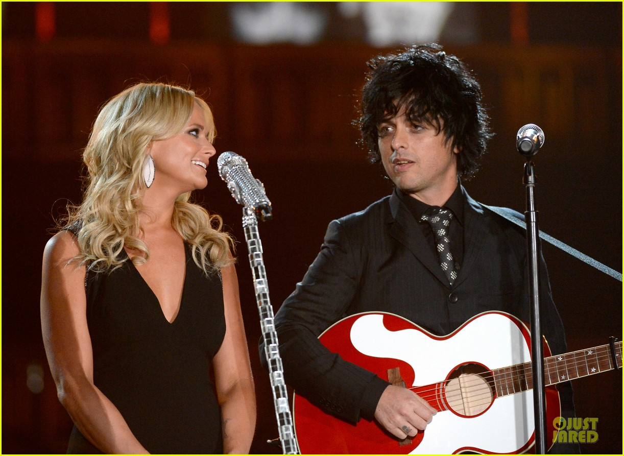miranda lambert billie joel armstrong when i will be loved at the grammys 2014 video 05