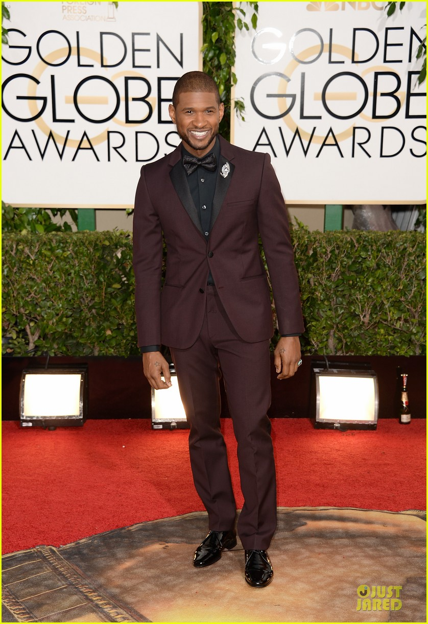 Usher | Golden Globes 2013 Best Dressed | The 1000th Voice Blog