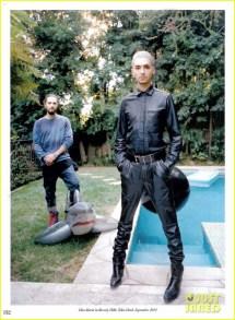 Tokio Hotel' Bill Kaulitz Rocks Leather 'interview