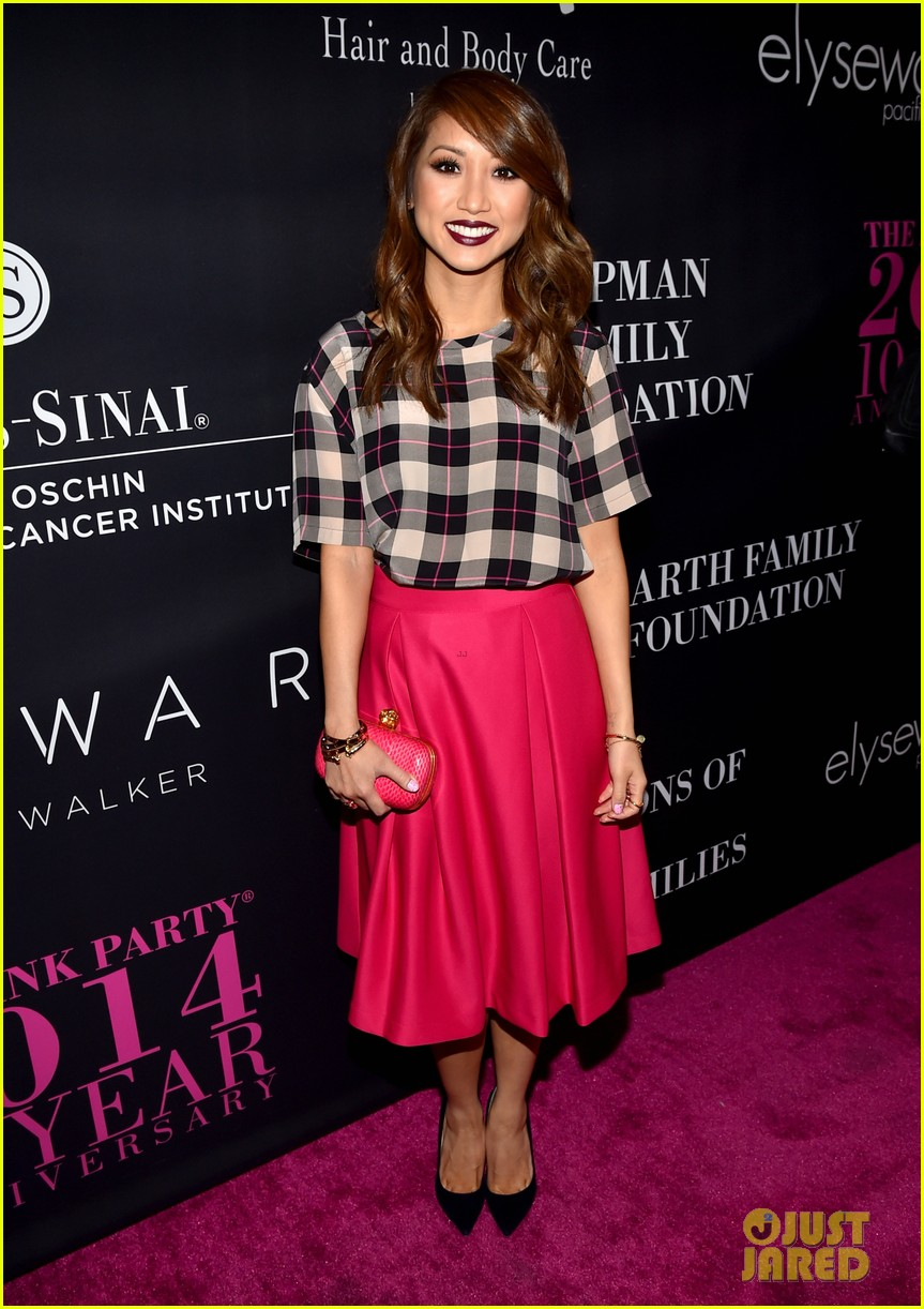 Shay Mitchell  Brenda Song Style it Up for the Pink Party