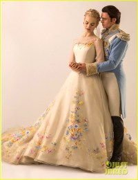 See Lily James In Cinderella's Wedding Dress Now!: Photo ...