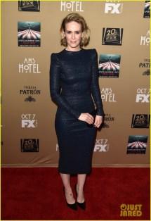 Matt Bomer & Sarah Paulson Premiere 'american Horror Story