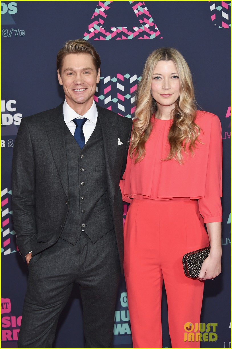 Chad Michael Murray  Sarah Roemer Attend CMT Awards 2016 Photo 3677361  2016 CMT Awards