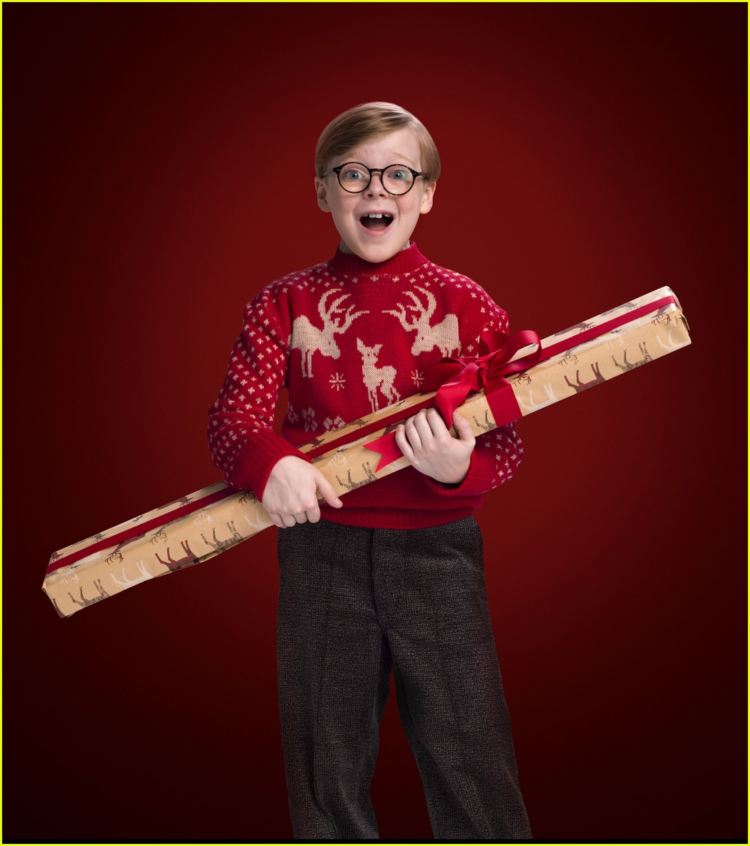 Full Sized Photo Of Christmas Story Live Cast List  Just Jared