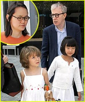 Image result for woody allen, soon-yi and their adopted daughters