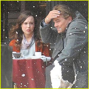 Leonardo DiCaprio Explosion On Set  Ellen Page