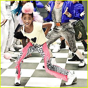 Willow Smith I whip my hair back and forth
