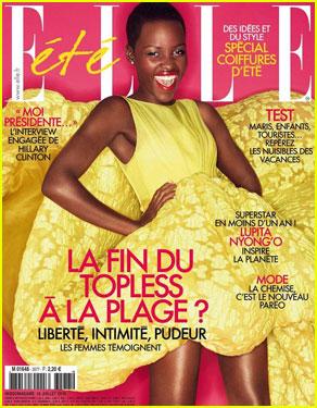 Lupita Nyongo Makes Us Love Summer With Stunning Elle