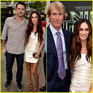 Brian Austin Green Supports His Wife Megan Fox At Teenage