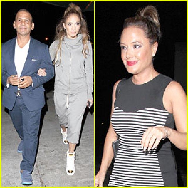 Jennifer Lopez Grabs Dinner After We Can Survive Surprise Performance