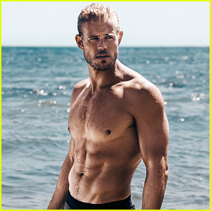 Trevor Donovan Displays Ripped Muscles for Shirtless Beach