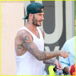David Beckham Arm Tattoo