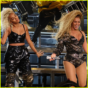 Image result for beyonce and solange coachella
