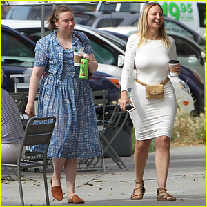 Lena Dunham & Sia Spend Time Hanging Out Together in LA!