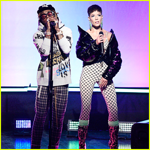 Lil Wayne Brings Out Halsey for 'SNL' Performance - Watch Now!