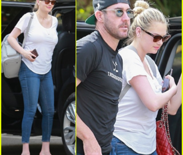 Kate Upton Husband Justin Verlander Grab Lunch In Beverly Hills