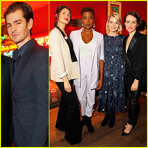 Andrew Garfield, Lucy Boynton & Claire Foy Celebrate Casting Awards 2019!