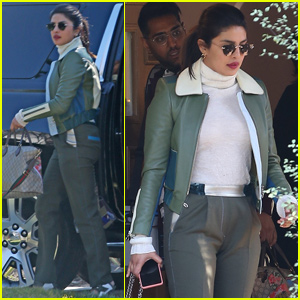 Priyanka Chopra Looks Chic While Visiting Friends in LA!