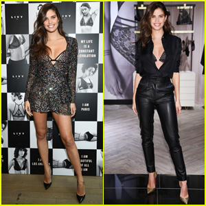 Sara Sampaio Debuts New Lingerie Collection at Victoria's Secret!