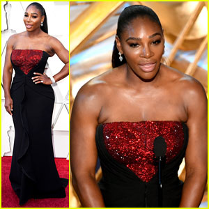Serena Williams Introduces Best Picture Nominee 'A Star Is Born' at Oscars 2019