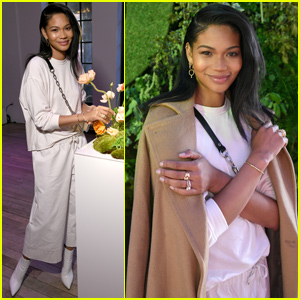 Chanel Iman Celebrates 'Pandora's Spring Collection in NYC