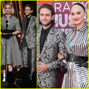 Katy Perry & Zedd Present Together at iHeartRadio Music Awards 2019!