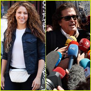 Shakira & Carlos Vives Appear in Court for 'La Bicicleta' Plagiarism Case