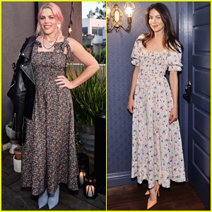 Busy Philipps & Michelle Monaghan Celebrate Net-A-Porter & DÔEN Partnership!