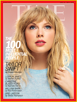 Taylor Swift Is One of Time's 100 Most Influential People of 2019!