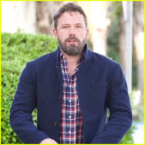 Ben Affleck Goes Patriotic for Day Out in Brentwood