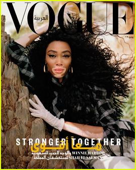 Winnie Harlow Brings Female Empowerment to 'Vogue' Arabia