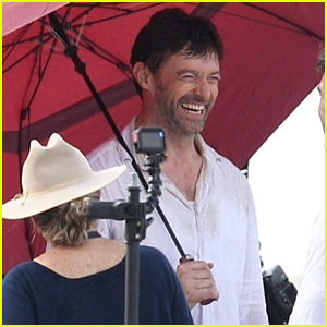 Hugh Jackman & Stunt Double Film 'Reminiscence' in New Orleans