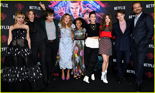 'Stranger Things' Cast Gets Silly at Season 3 NYC Screening
