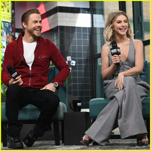 Julianne & Derek Hough Promote Upcoming Holiday Special 'Holidays with the Houghs'