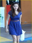 Ariel Winter Dress Blue