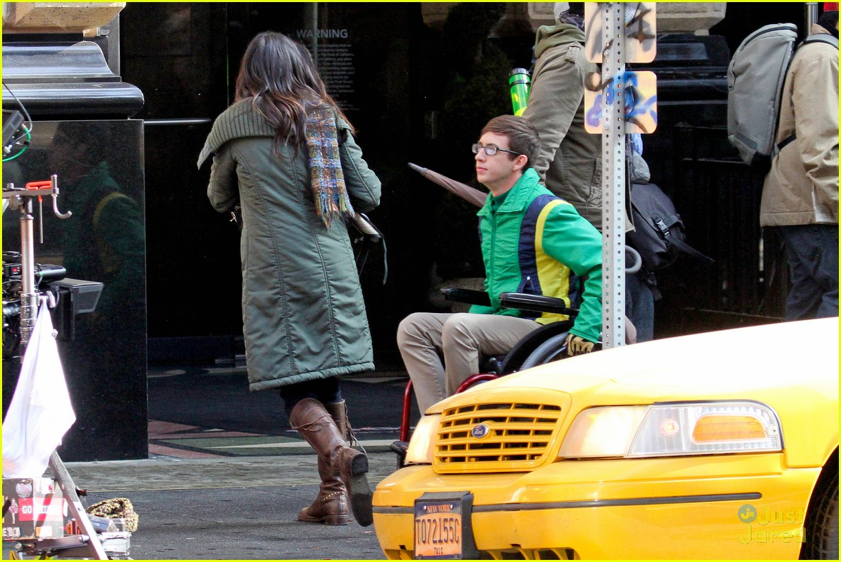 wheelchair glee bent wood chair kevin mchale run in on 39glee 39 set photo