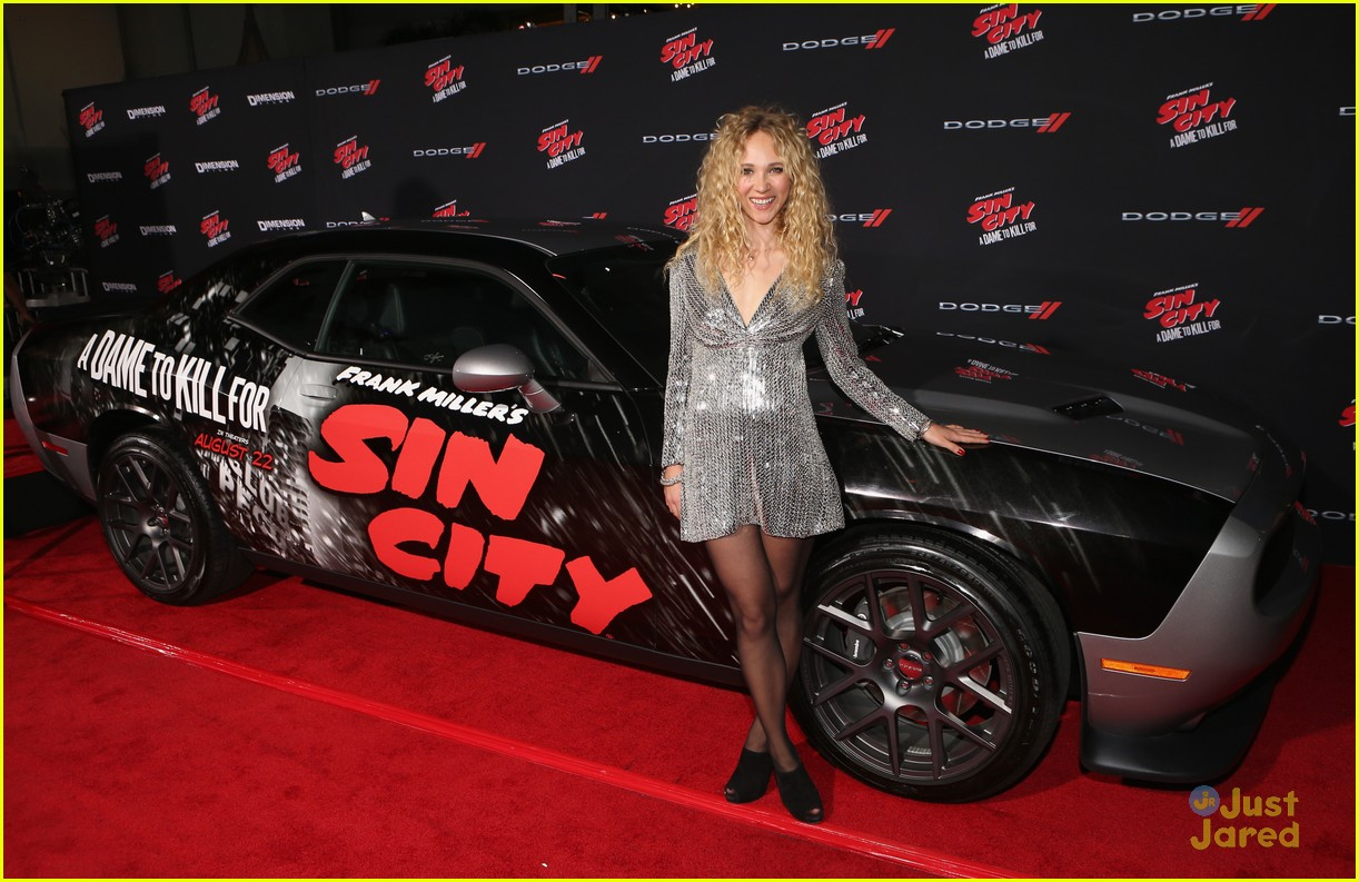 Selling the car already? Juno Temple