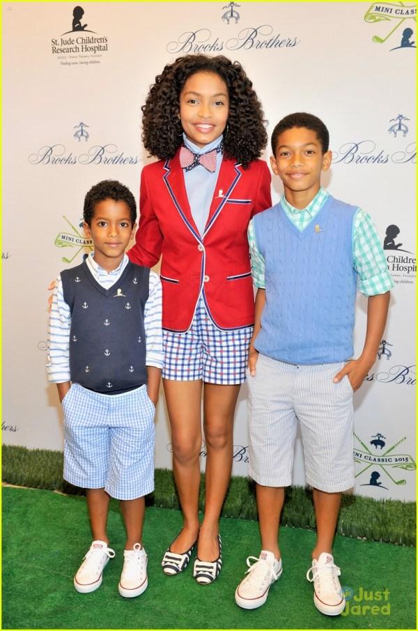 Raini & Rico Rodriguez Join Yara Shahidi Brooks Brothers St. Jude Mini Golf Classic