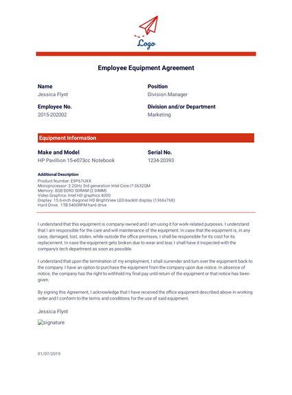 Employee record helps in tracking any of the employee's performance, achievement, absences, and more. Employee Record Templates Pdf Templates Jotform