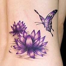 Tatuagens Femininas No Pe Delicadas Borboletas