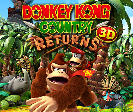 Donkey Kong Country Returns 3d Nintendo 3ds Games