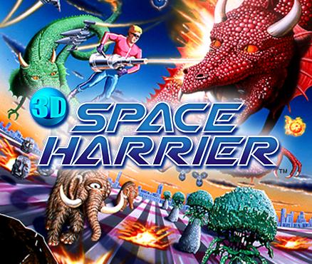 3D Space Harrier  Nintendo 3DS download software  Games