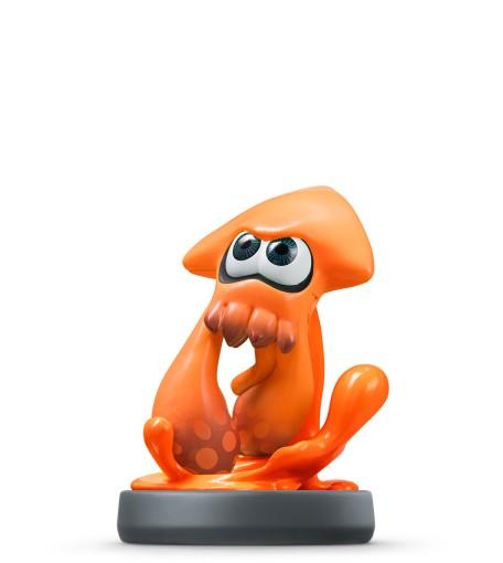 Inkling Squid Orange Splatoon Collection Nintendo