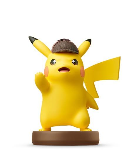 Detective Pikachu Detective Pikachu Amiibo Nintendo