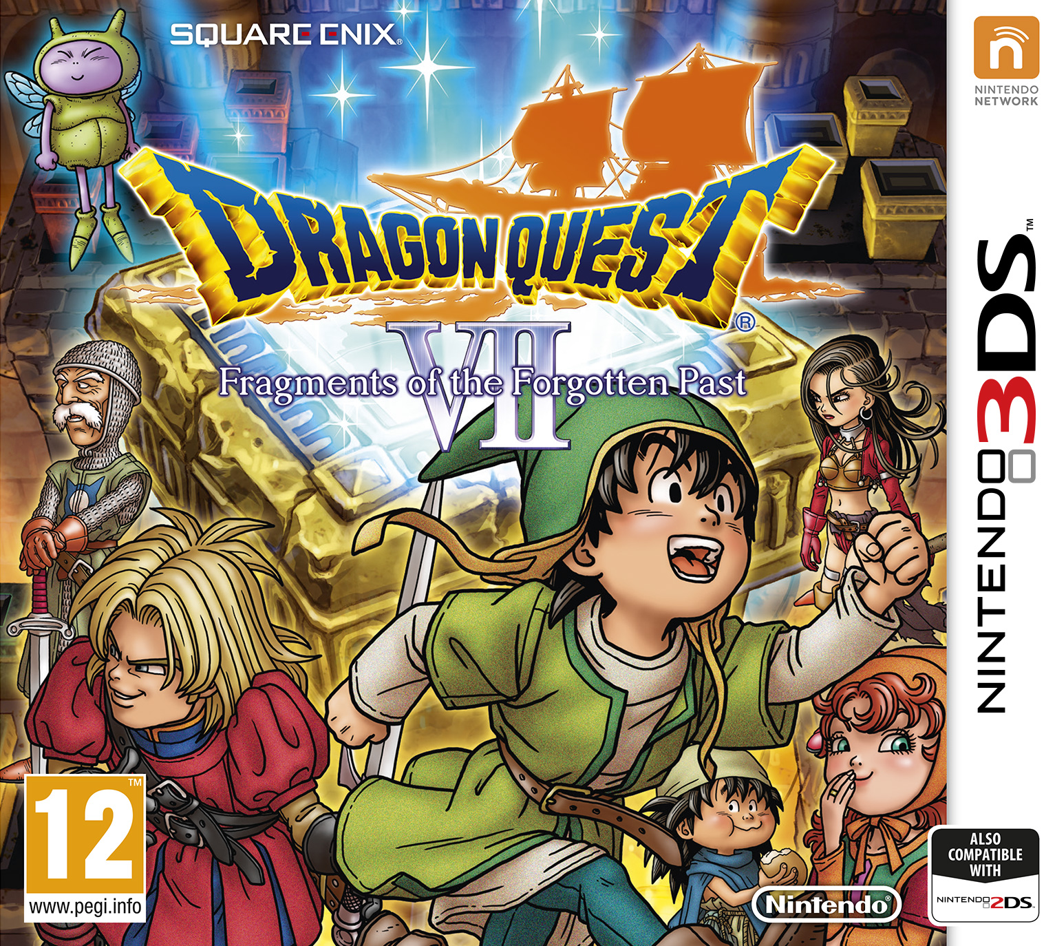 Dragon Quest 6 Ds Fliegender Teppich Dragon Quest Vii Fragments Of The Forgotten Past
