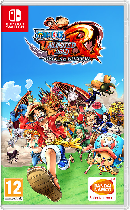 One Piece Unlimited World Red  Deluxe Edition  Nintendo