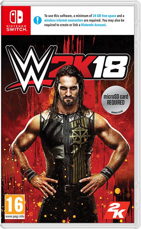 WWE 2K18  Nintendo Switch  Games  Nintendo