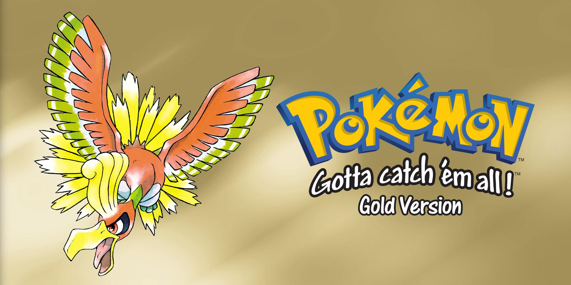 Pokmon Gold Version Game Boy Color Games Nintendo