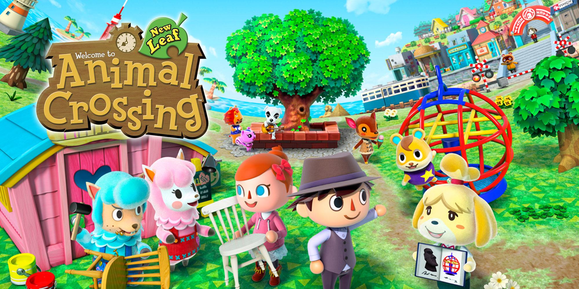 Animal Crossing New Leaf  Nintendo 3ds  Games  Nintendo
