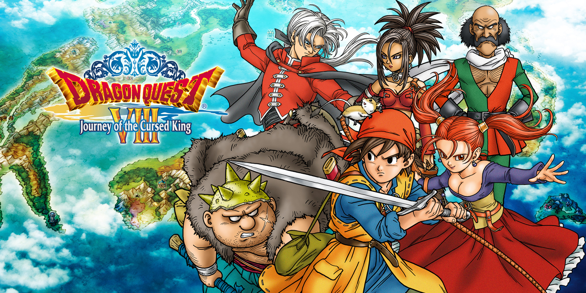 Dragon Quest 7 3ds Fliegender Teppich Dragon Quest Viii Journey Of The Cursed King Nintendo